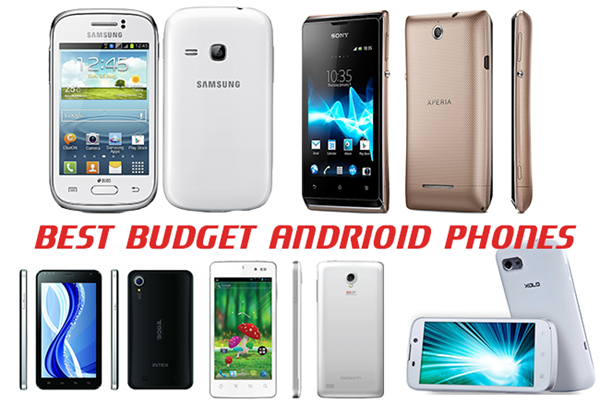 Budget android phone