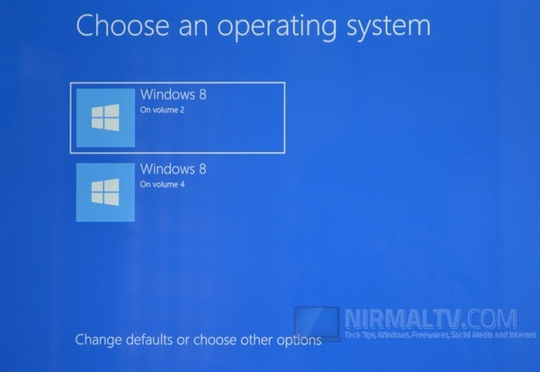 Choose the OS
