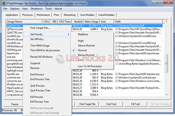 DTask Manager