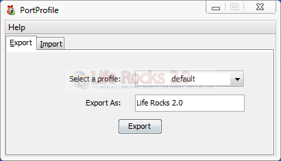 Export Firefox Profile