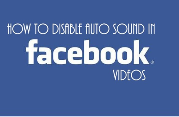 Disable Facebook Video Sound Autoplay