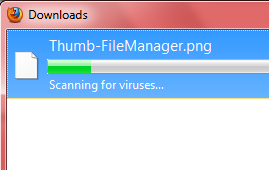 How to Disable Automatic Virus Scan after Download in