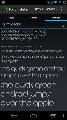 best fonts for android phones