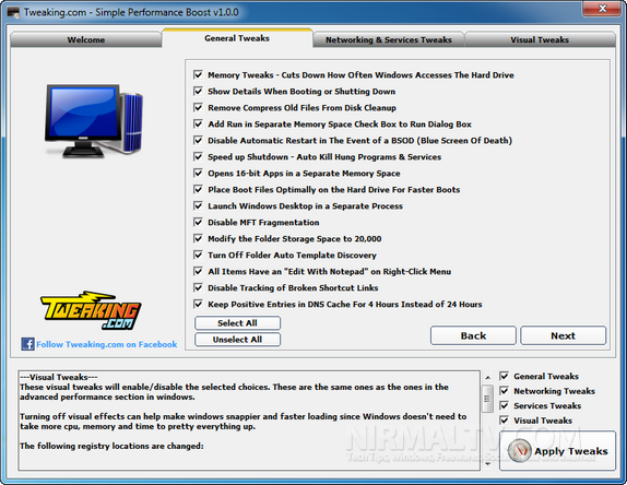 Increase Speed and Stability of your PC with Simple