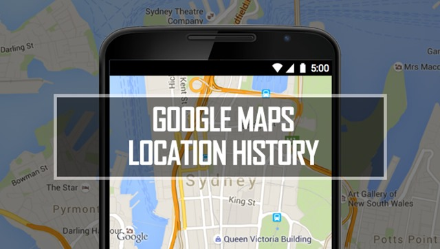 How to Find out Locations you visited using Google Maps Map Out Locations on