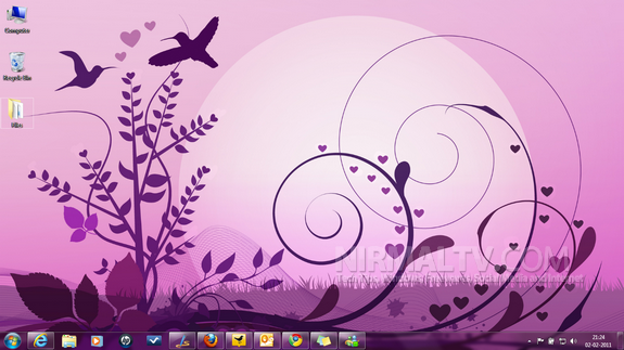 Valentine's Themes for Windows 7