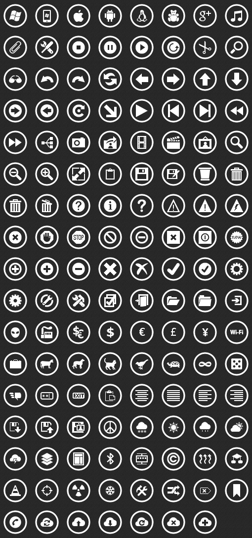 Download Free Metro Icon Pack for Windows