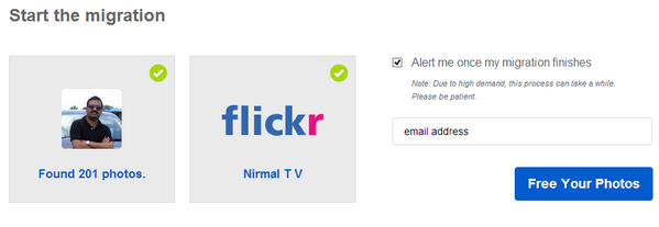 Migrate from Instagram to Flickr