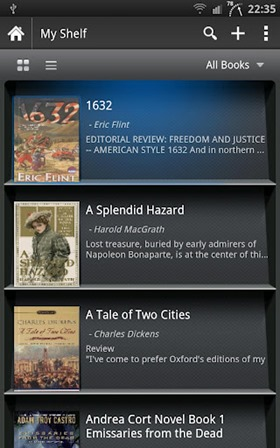 Top 8 Free ePub Reader for Android