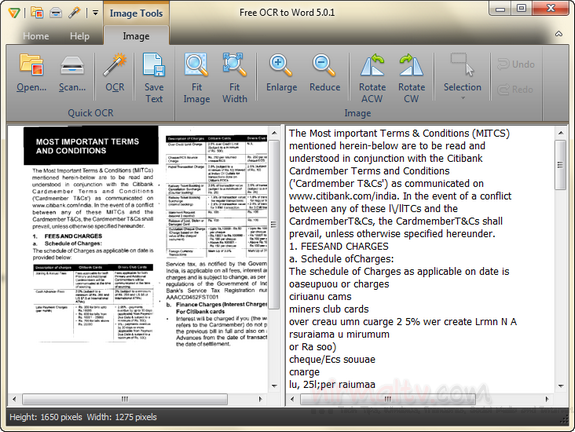 Extract Text from Scanned Documents- Free OCR to Word