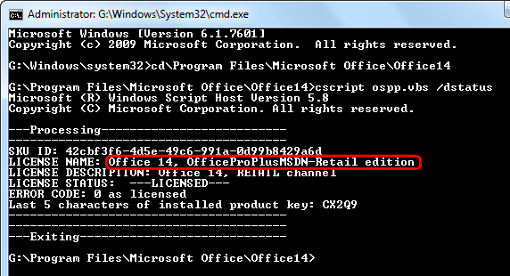 Command line windows activation status | How to Use Slmgr to Change