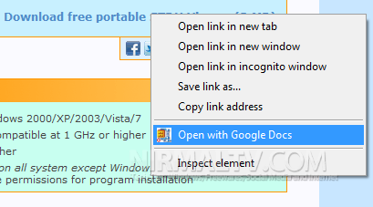 Quickly Open Online Zip and RAR Files from Context Menu