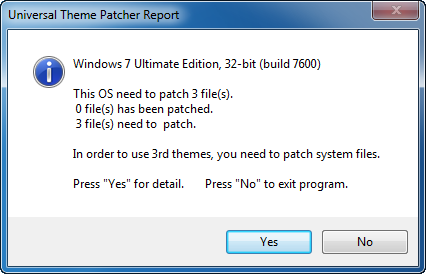 Patch files