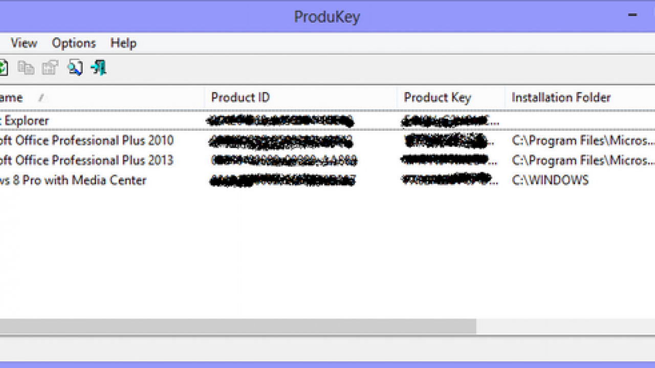 How To Recover the Product Keys of Windows and Office Suite