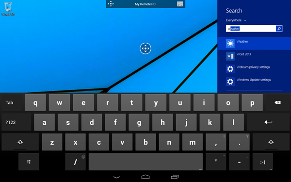 Remote desktop for Android1