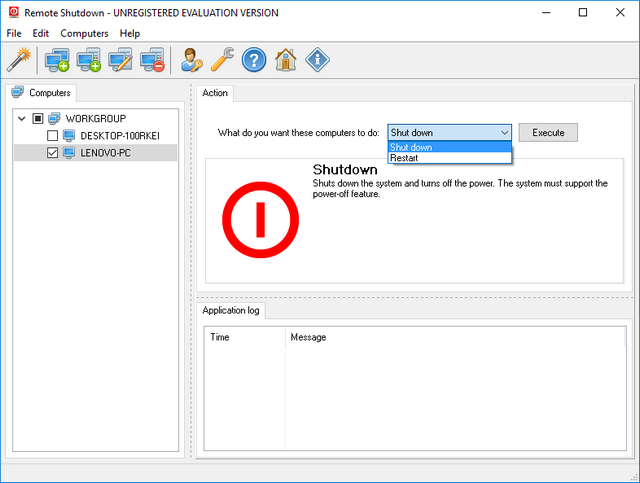 How to Remotely Shutdown a Networked Windows PC