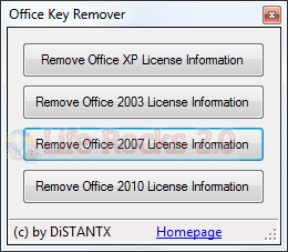 Remove Office License