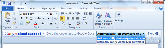 Save documents automatically