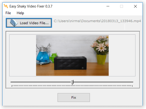 Stabilize Shaky Videos