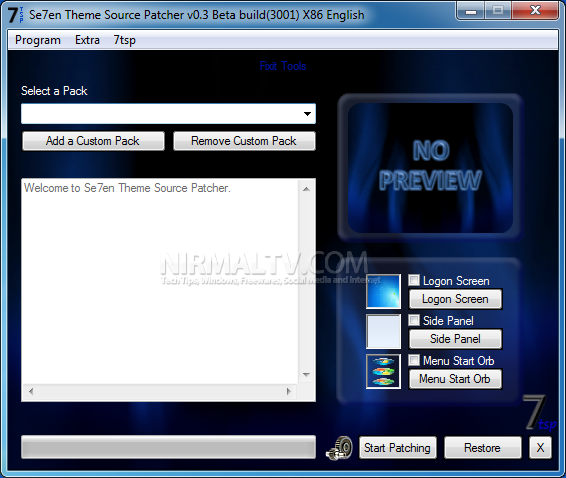 Windows Xp Theme File Software: Patch Windows 7 Theme Files With Seven Theme Source Patcher