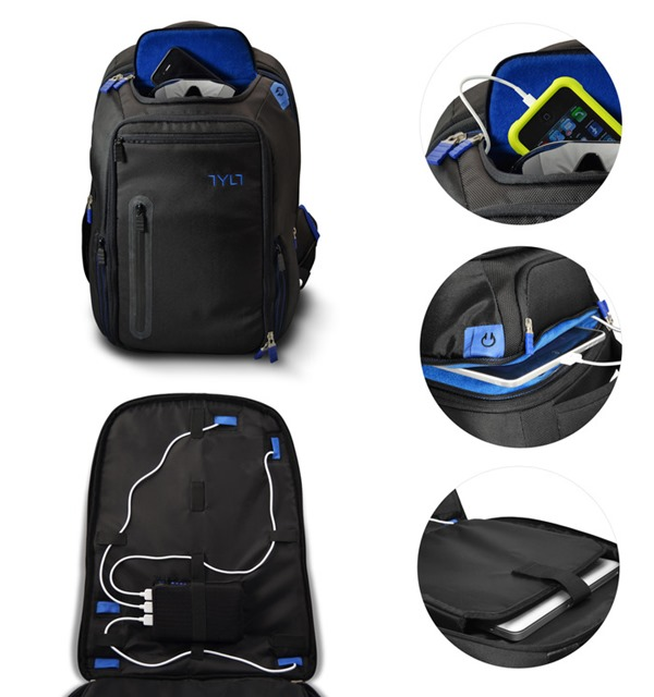 TYLT Energi Backpack- Charge Mobile Devices on the Go 91b345442603d