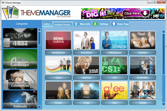 Themes Manager