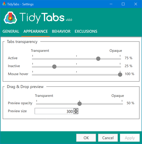 Add Tabs to any Application in Windows with TidyTabs