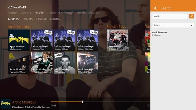 VLC for Windows 8.1