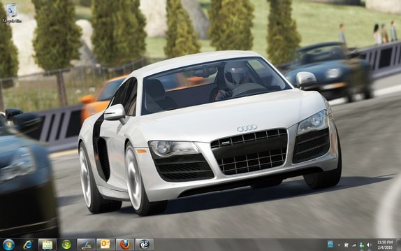 Windows 7 theme