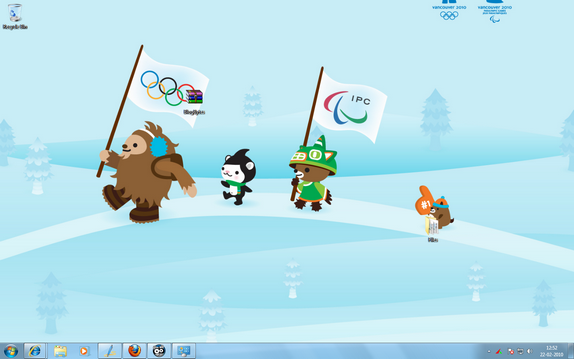 Winter Olympics Theme