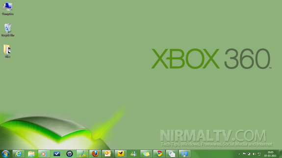 Xbox theme for Win 7