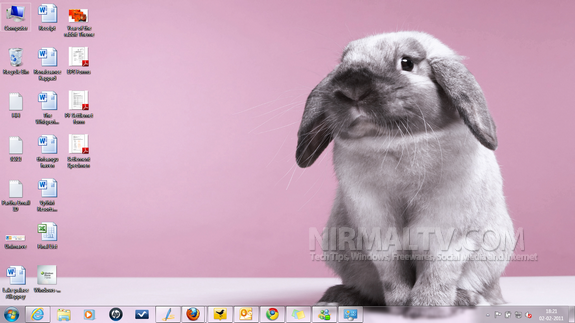 Year of Rabbit theme