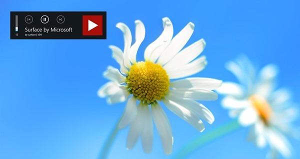 Youtube for Windows 8 background