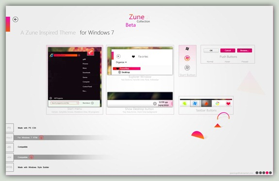 Zune_Collection_for_Win7_Beta_by_giannisgx89.png