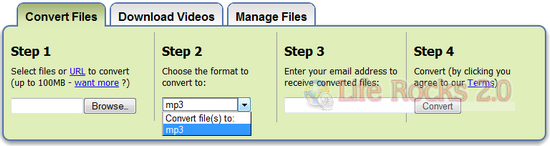 Convert documents to Mp3