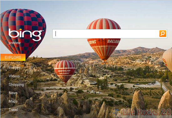 Home Page Bing