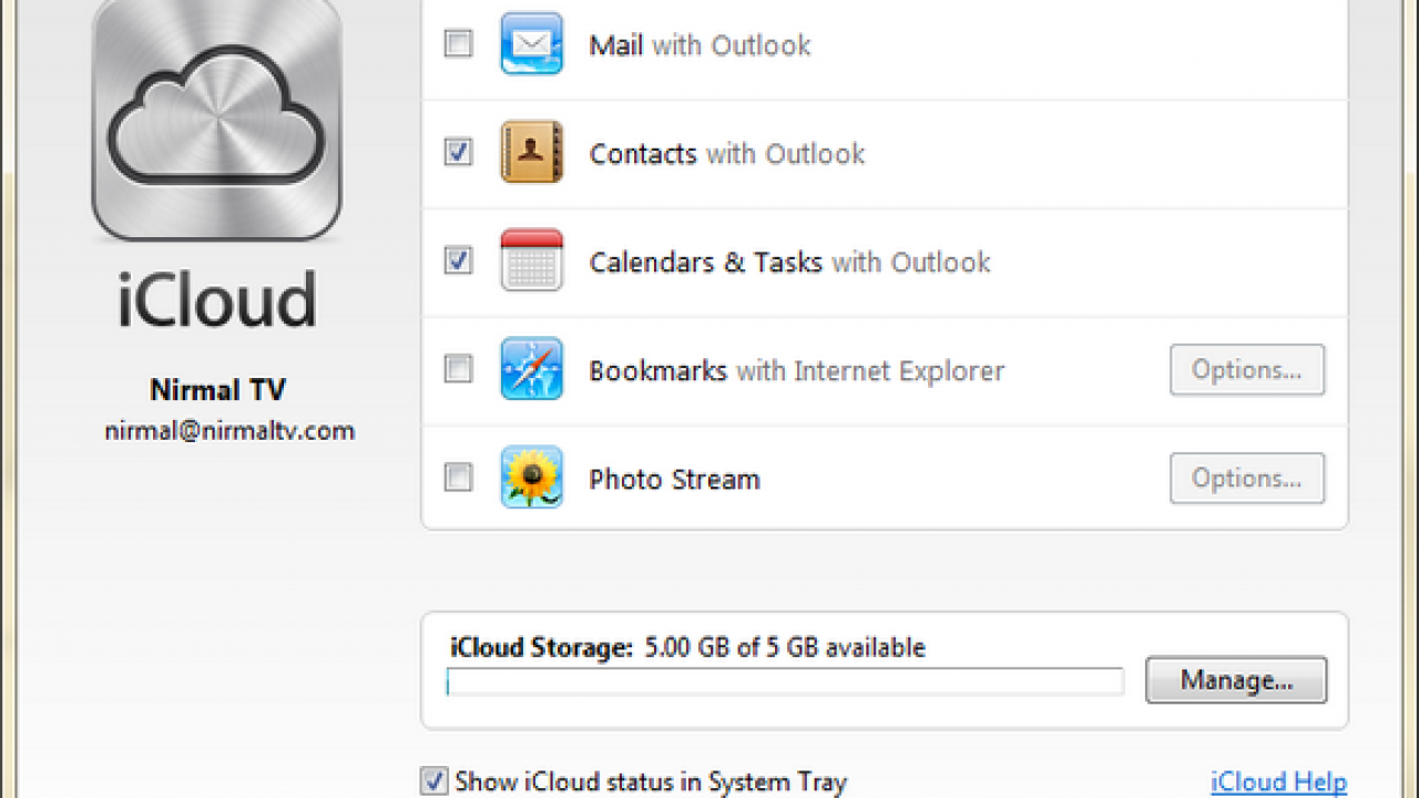 How to Sync iCloud Contacts and Calendar with Outlook
