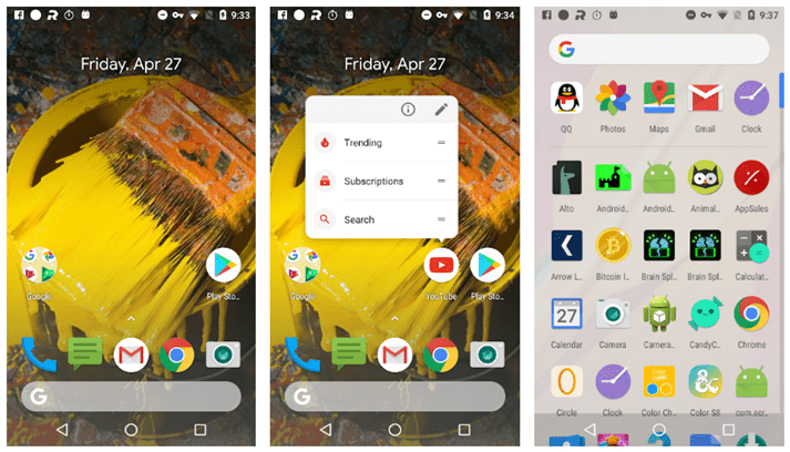 Best Android 9.0 Pie Launchers