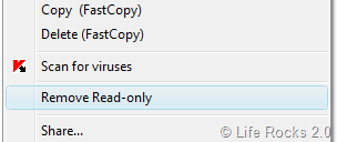 Remove Read Only