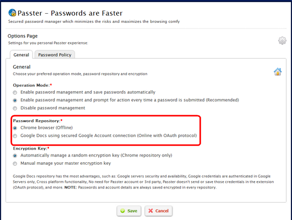 passter password manager syncs passwords in chrome with With google docs password manager