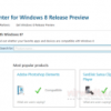 Compatibility Center for Windows 8 Release Preview