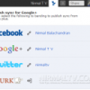 Two Way Sync for Google+ with Facebook and Twitter