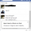 Send Photos in Facebook Chat