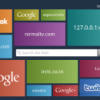 Metro UI Style Speed Dial for Google Chrome