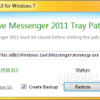 Minimize Windows Live Messenger to System Tray with WLM Tray Patch