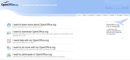 how to add downloaded extentions to open office