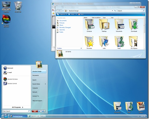 desktop themes for vista. Quest theme. diamond_Vista