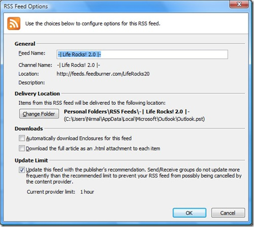 outlook feed reader_3