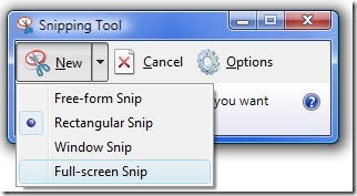 Vista's Cool Snipping tool