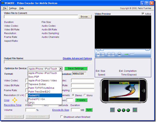 ipod touch video converter. It can convert videos to iPod touch, iPhone and other mobile devices like
